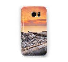 Sunset on Washington Island Samsung Galaxy Case/Skin