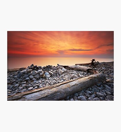 Sunset on Washington Island Photographic Print