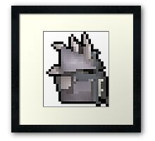 Slayer Helm Framed Print