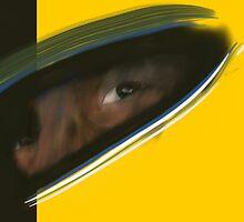 Aryton Senna by projectbebop