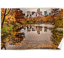 Central Park in the Fall ~ New York City ~ USA Poster
