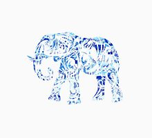 Lilly Pulitzer Blue Tribal Elephant Unisex T-Shirt