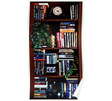 Office Library Shelf Poster