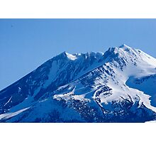 Shasta Mountain Photographic Print