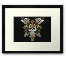 DEAD SAMURAI Framed Print