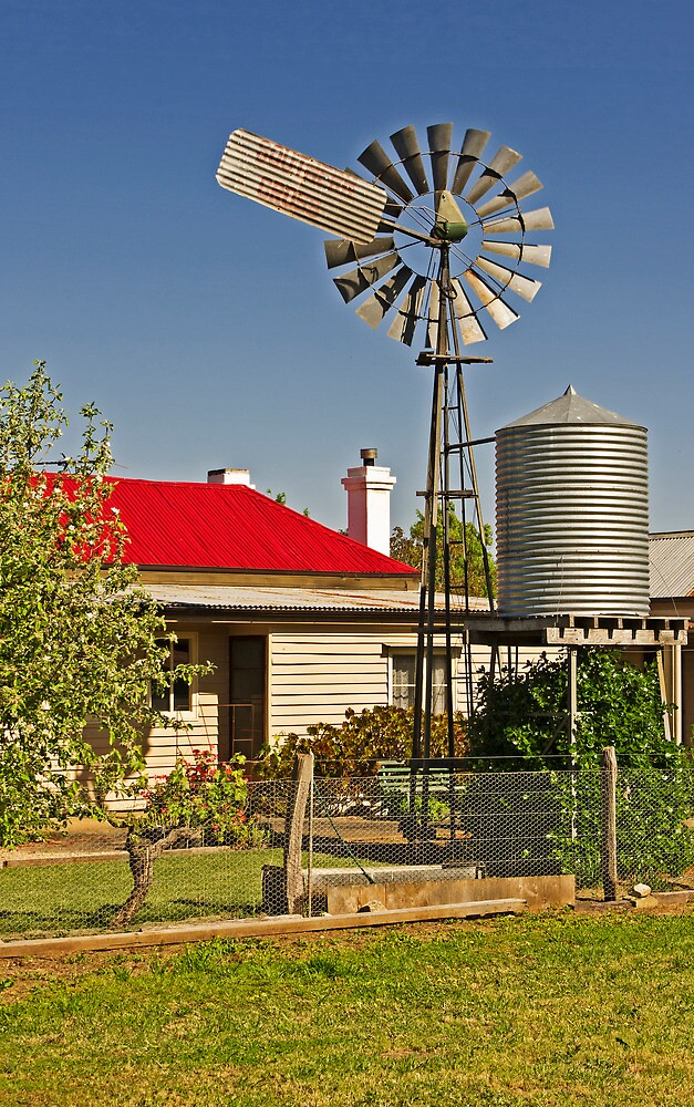 Country Life - Australian Style by TonyCrehan