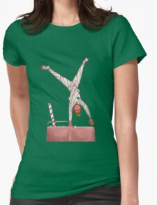 Strawberry Man Womens Fitted T-Shirt