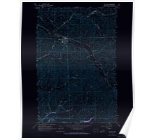 USGS Topo Map Washington State WA St John 243986 1964 24000 Inverted Poster