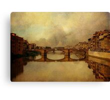 Once Upon A Time In Florence Canvas Print