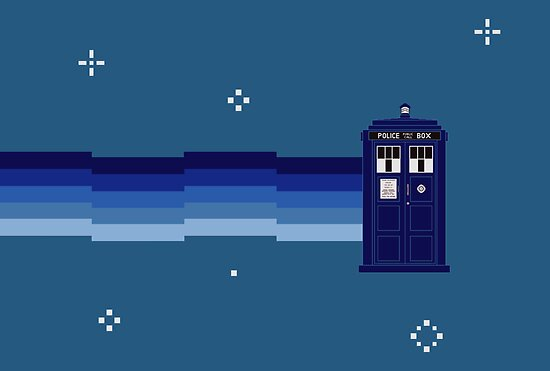 Vworp Cat (or Nyan Tardis) by fohkat