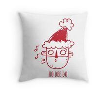 The Eleventh Santa Throw Pillow