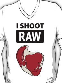 I shoot RAW (meat) T-Shirt