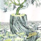 Tree Nymph by Davol White