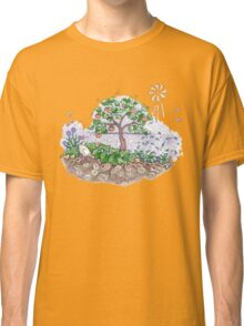 Gaia with outback persimmon tree Classic T-Shirt