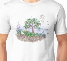Gaia with outback persimmon tree Unisex T-Shirt