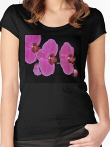 ORCHID 7 Women's Fitted Scoop T-Shirt