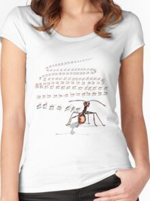 THE PIONEER Women's Fitted Scoop T-Shirt