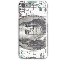 Puzzle in the form of currency iPhone Case/Skin