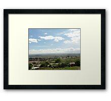 Giotto Dump Site 4.0 - Nakuru Framed Print