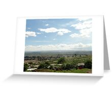 Giotto Dump Site 4.0 - Nakuru Greeting Card