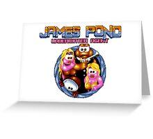 James Pond Greeting Card