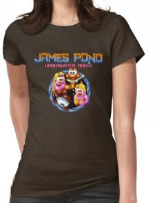 James Pond Womens Fitted T-Shirt