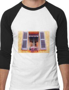 French Window Men's Baseball ¾ T-Shirt