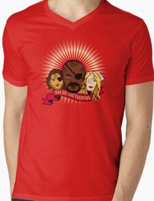 Dia de los Tuertos Mens V-Neck T-Shirt
