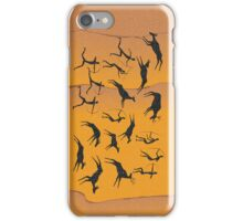 Cave figures of primitive iPhone Case/Skin