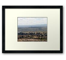 Giotto Dump Site 5.0 - Nakuru Framed Print