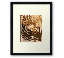 swirling . . .  Framed Print