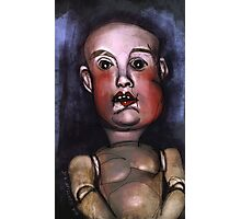 Babydoll - Spooky Old Doll Photographic Print