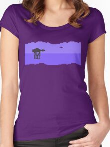 Hoth Women's Fitted Scoop T-Shirt