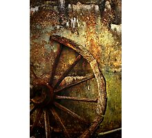 And the Wheel Went Round..... Photographic Print