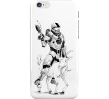Chief and his Mighty Steed iPhone Case/Skin