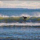 Surfs Up at Deep Hole - Matunuck - Rhode Island by Jack McCabe