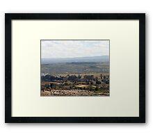Giotto Dump Site 6.0 - Nakuru Framed Print