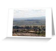 Giotto Dump Site 6.0 - Nakuru Greeting Card
