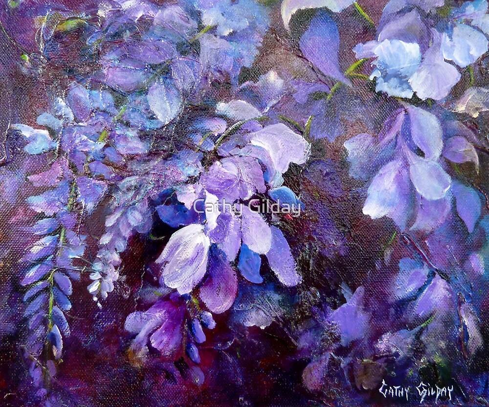 Wisteria by Cathy Gilday