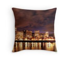 Wonderful Waterfront Park Throw Pillow