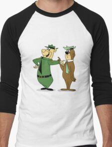 Bear-Faced Ranger Men's Baseball ¾ T-Shirt