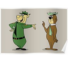 Bear-Faced Ranger Poster