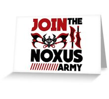 Noxus army Greeting Card