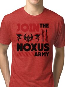 Noxus army Tri-blend T-Shirt