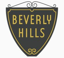 Beverly Hills Sign, Los Angeles, California Baby Tee