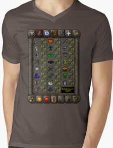 Maxed Skills Mens V-Neck T-Shirt