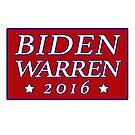 Biden Warren 2016 by TVsauce