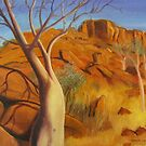 BOTTLE TREES, NORTHERN TERRITORY, AUST. by HAMISH CUMING