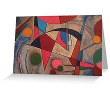 AbstractArcs Greeting Card