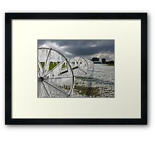 Now thats called ice ... ! Framed Print